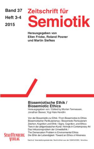 View Vol. 37 No. 3-4 (2015): Biosemiotic Ethics